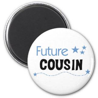 Future  Cousin Blue Magnet
