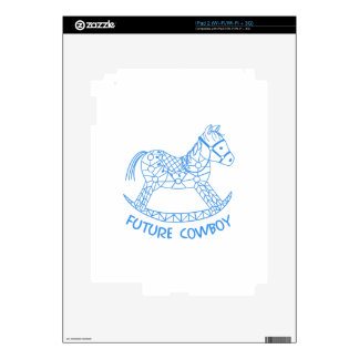 Future Cowboy Decal For iPad 2