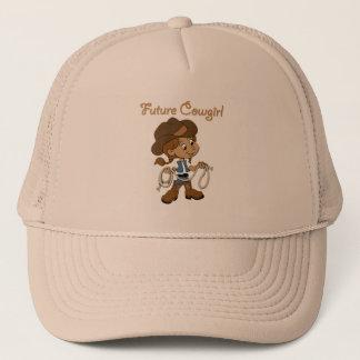 Future Cowgirl Dark Skin When I Grow Up Trucker Hat