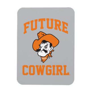 Future Cowgirl Magnet