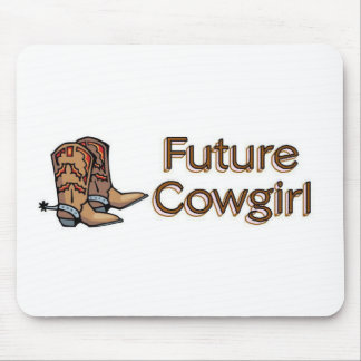 Future Cowgirl Mouse Pad
