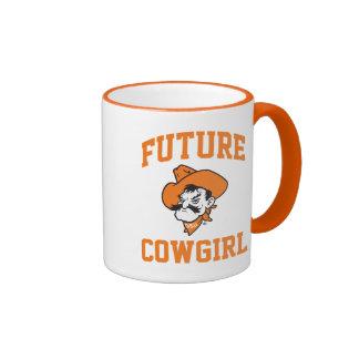 Future Cowgirl Ringer Mug