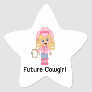 Future Cowgirl Stickers