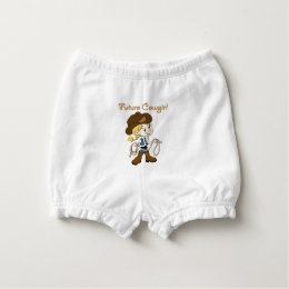 Future Cowgirl When I Grow Up Diaper Cover