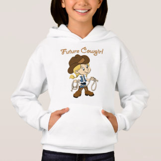 Future Cowgirl When I Grow Up Hoodie
