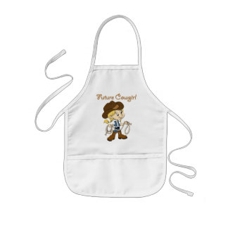 Future Cowgirl When I Grow Up Kids' Apron