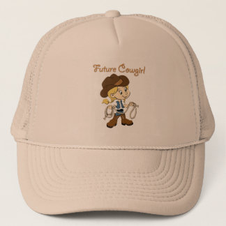 Future Cowgirl When I Grow Up Trucker Hat