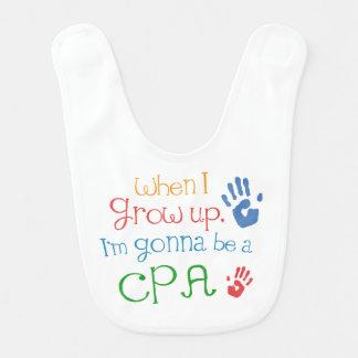 Future CPA Baby Bib