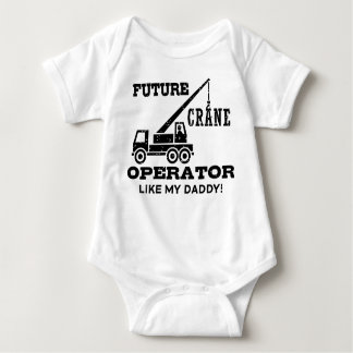 Future Crane Operator Infant Creeper