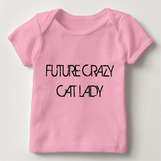 Future Crazy Cat Lady Infant Long-sleeved Tshirt