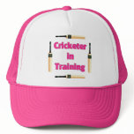 Future Cricketer or Cricketer in Training Trucker Hat