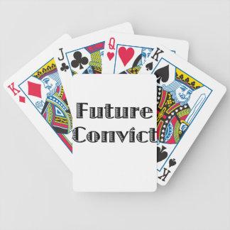 Future Criminal Bicycle Playing Cards