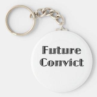 Future Criminal Keychain
