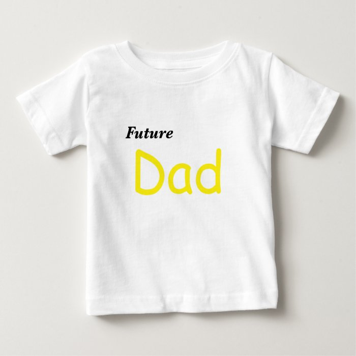 Future Dad Baby T-Shirt