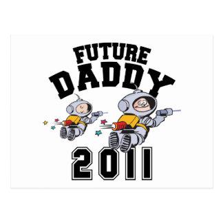 Future Daddy 2011 Postcard