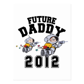 Future Daddy 2012 - Father To Be Postcard