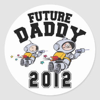 Future Daddy 2012 - Father To Be Sticker