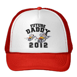 Future Daddy 2012 - Father To Be Trucker Hat