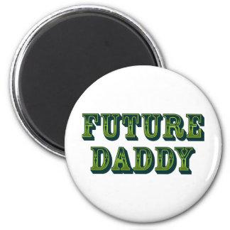 Future Daddy 2 Inch Round Magnet
