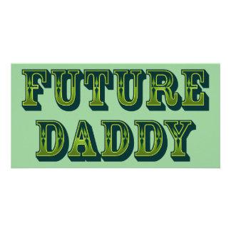 Future Daddy Photo Greeting Card