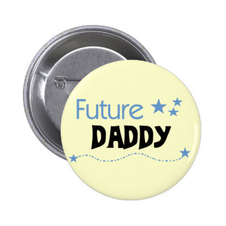 Future Daddy Tshirts and Gifts Pinback Button