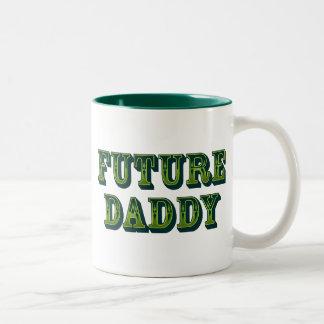 Future Daddy Two-Tone Coffee Mug