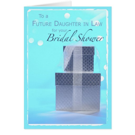 Wedding Gift For Future Daughter In Law : Future Daughter-in-Law, Bridal Shower Gifts, Light Greeting Card ...
