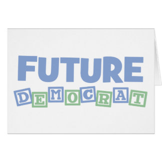 Future Democrat Blocks Card