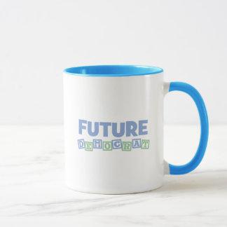 Future Democrat Blocks Mug