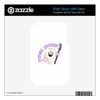 Future Dentist iPod Touch 4G Skins