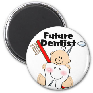 Future Dentist Refrigerator Magnet