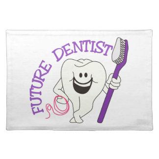 Future Dentist Cloth Place Mat