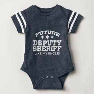 Future Deputy Sheriff Like My Uncle Baby Bodysuit