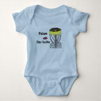 Future Disc Golfer baby onsie bodysuit