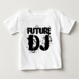 future dj baby , kids toddler t-shirt vest romper