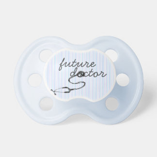 Future Doctor  Blue Pacifier