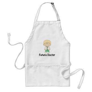 future doctor (boy) adult apron