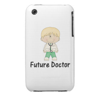 future doctor boy iPhone 3 Case-Mate cases
