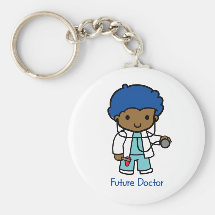Future Doctor - Boy Keychain