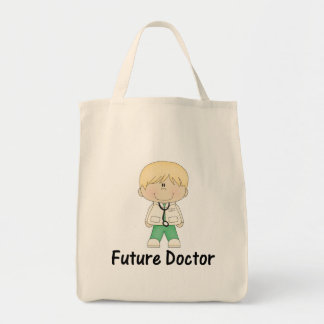 future doctor (boy) tote bag