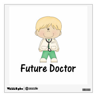 future doctor (boy) wall decal