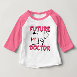 Future Doctor funny baby girl shirt