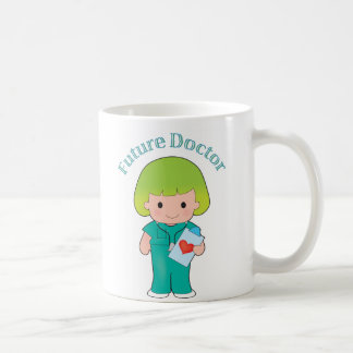 Future Doctor Girl Classic White Coffee Mug