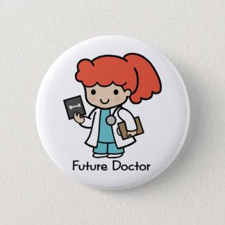 Future Doctor - Girl Pinback Button