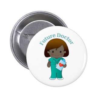 Future Doctor  Girl Pins
