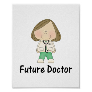 future doctor (girl) poster