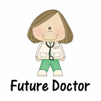 future doctor (girl) statuette