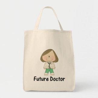 future doctor (girl) tote bag