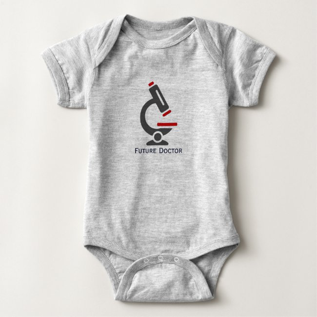 Future Doctor Microscope Design Baby Clothing