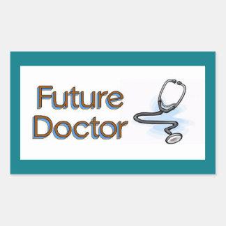 Future Doctor Rectangular Sticker